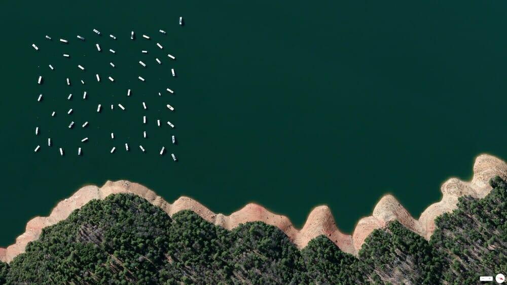 New Bullards Bar Reservoir - Yuba County, California, USA