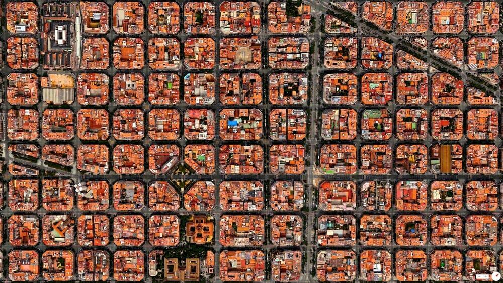 Eixample District - Barcelona, Spain