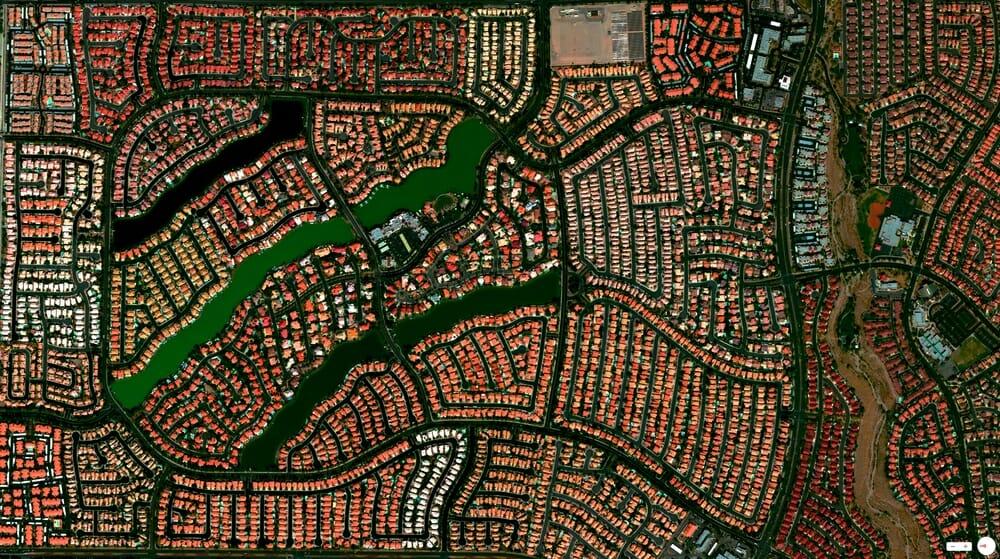 Desert Shores Community - Las Vegas, Nevada, USA