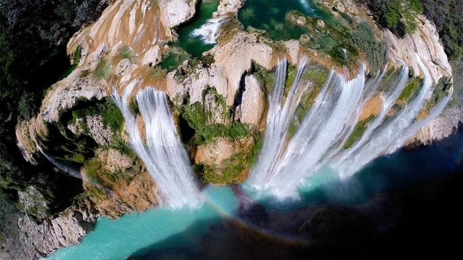 SEGUNDO PREMIO para usuarios: Saltos de Tamul en México (@postandfly)