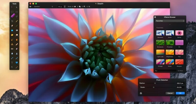 Blog de Lugarte Fotografía © Pixelmator: La mejor alternativa a Photoshop y Lightroom